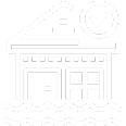 Flooded Building Icon