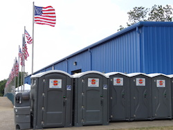Superior Portable Services Portable Restrooms at the Akron All American Soap Box Derby