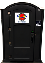 Handicap accessible portable restrooms for rent
