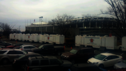 Superior Portables Restroom Trailers at the Presidential Inauguration