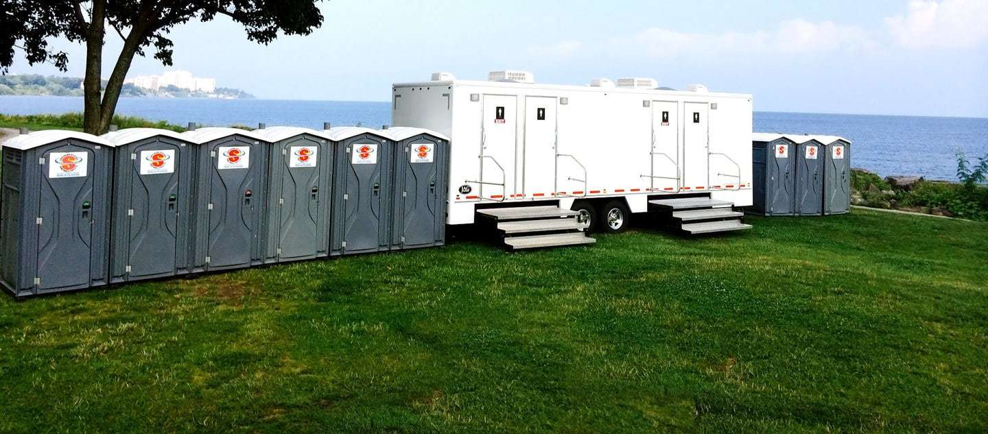 Portable Restrooms Shower Trailers