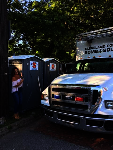 rent restrooms for Northeast Ohio concerts