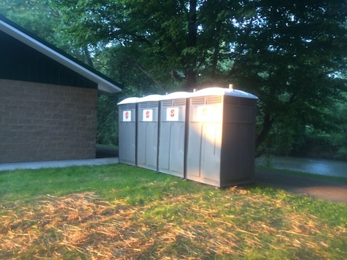 Superior Portables Restroom Units at Outdoor Event
