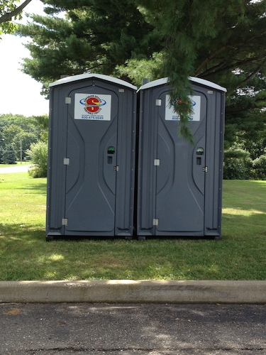 If you are planning a race, be sure to order porta potties for the finish line and on the route