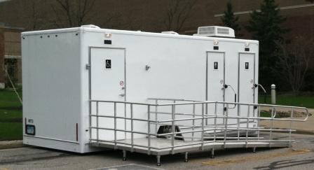 Superior Portable Services ADA Compliant Restroom Trailer