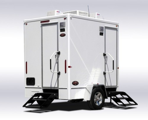 diamond series 2 stall restroom trailer - Bathroom Trailers