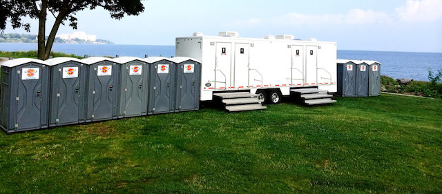 Portable Restrooms & Shower Trailers