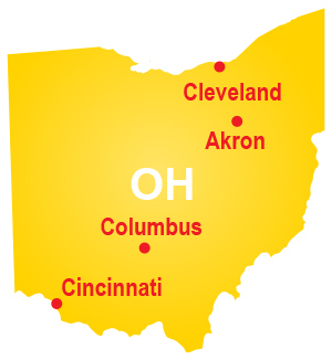 Restroom and shower trailer rentals throughout Ohio